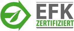 EFK zertifiziert